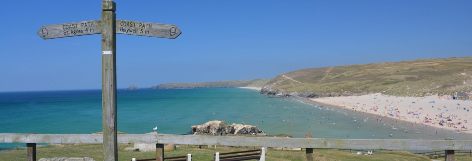 South West Coast Path Perranporth