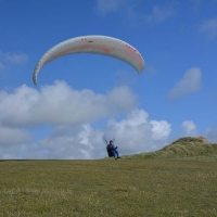 perranporth-hang-glider
